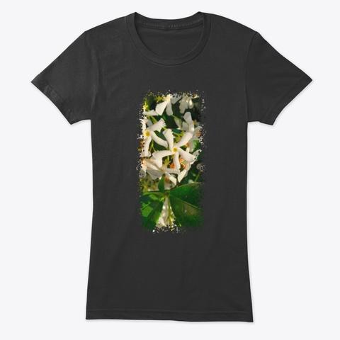 Jasmine Stars Vintage Black T-Shirt Front