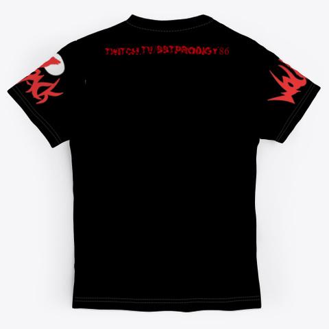 Ss T Prodigy Twitch Gear Rebranded Black T-Shirt Back