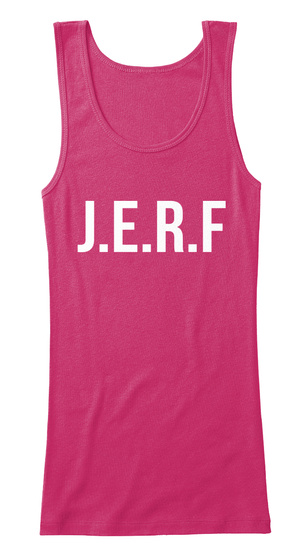 J.E.R.F Berry Women's Tank Top Front