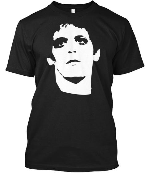 Lou Reed Transformer Shirt Black T-Shirt Front