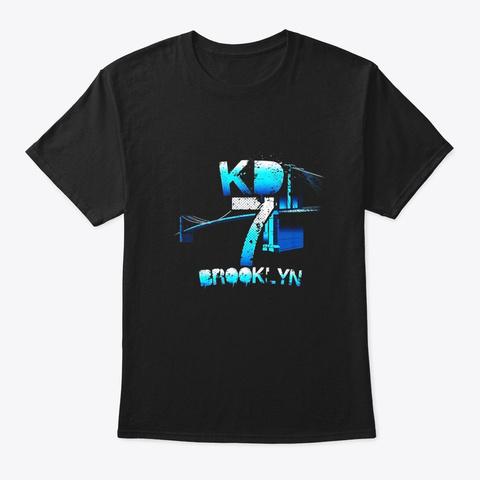 7 Basketball Jersey Black T-Shirt Front