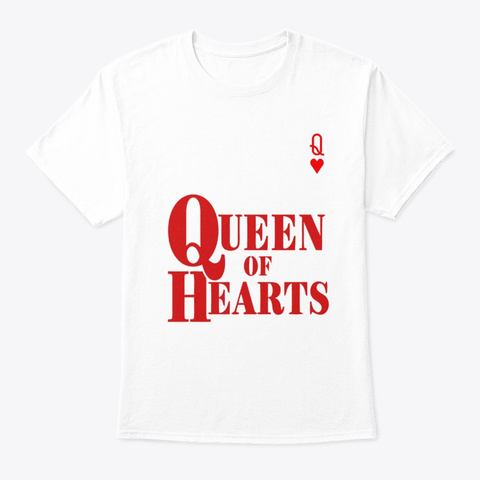 queen heart t shirt