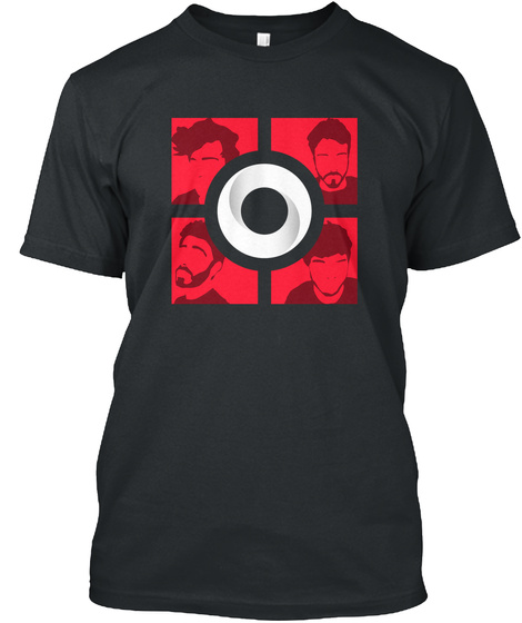 The Official Cube Black T-Shirt Front
