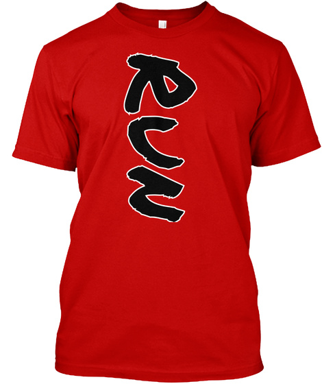 Run Classic Red T-Shirt Front