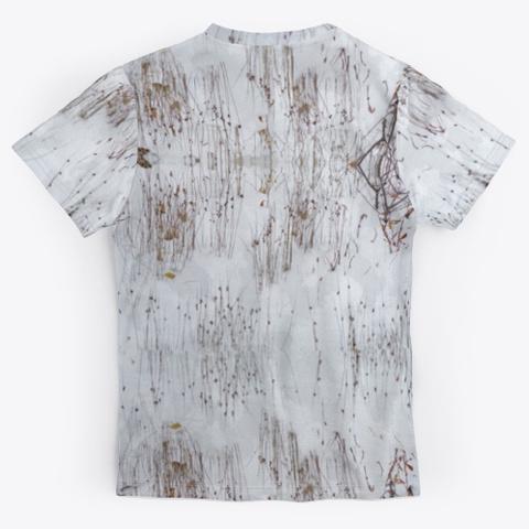 Snow Camo Unisex Jersey Standard T-Shirt Back