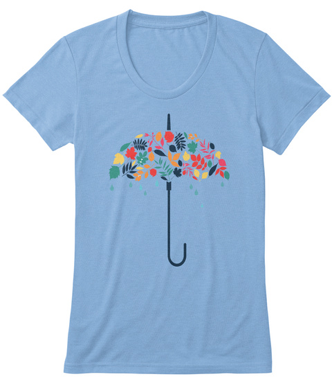 Ltd Edition: Ready For Autumn? Athletic Blue T-Shirt Front