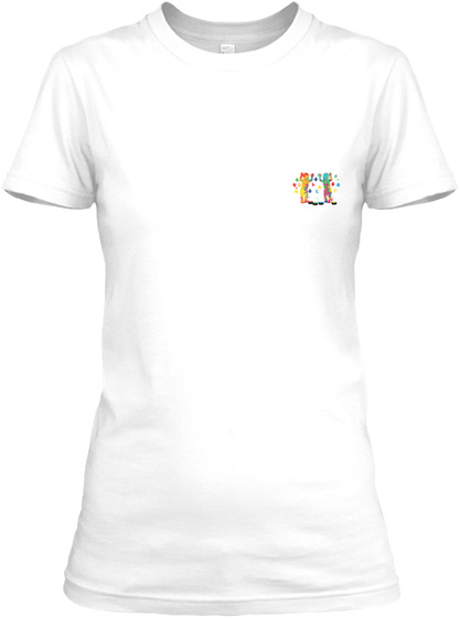 Awesome Childcare Provider Shirt White T-Shirt Front