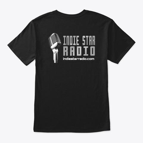 Official Indie Star Radio Tshirt Black Camiseta Back