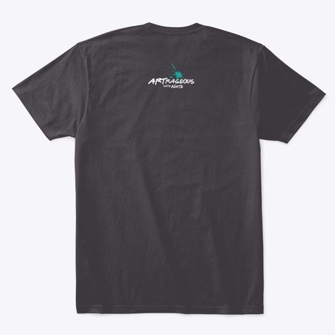 Wwvd Dark Grey Heathered Charcoal  T-Shirt Back