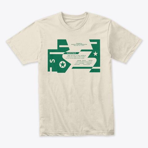 Wtsp K Rations Supper Shirt Cream T-Shirt Front
