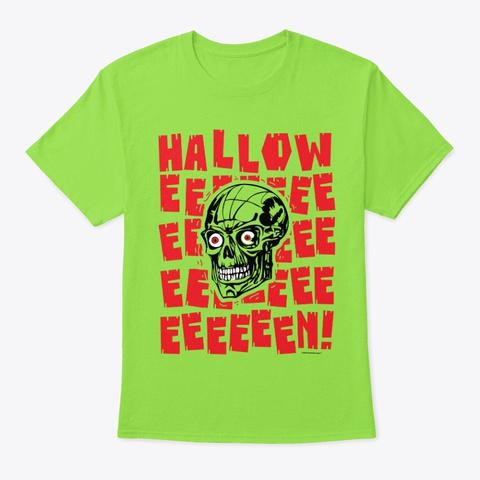 Halloweeeeeeeeeeeeeeeeeeeeeen!   Style 1 Lime Kaos Front