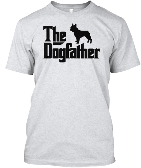 The Dogfather Ash T-Shirt Front