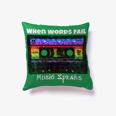 Music House Trance Edm Deep House Disco  Green T-Shirt Front