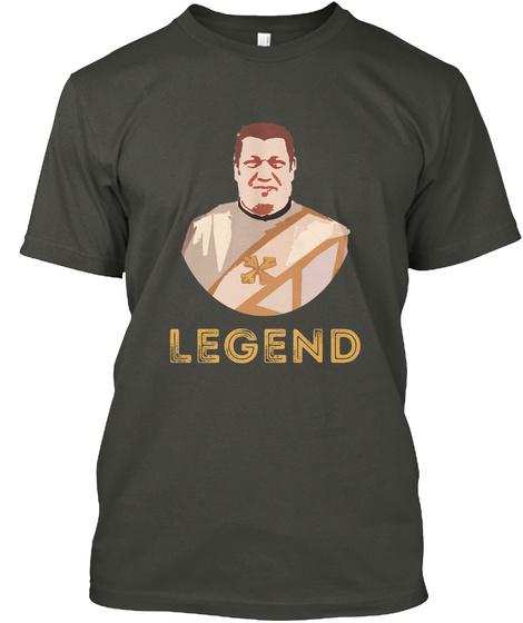 Legend Smoke Gray T-Shirt Front