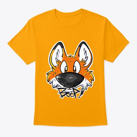 Fox's Boop! Gold T-Shirt Front