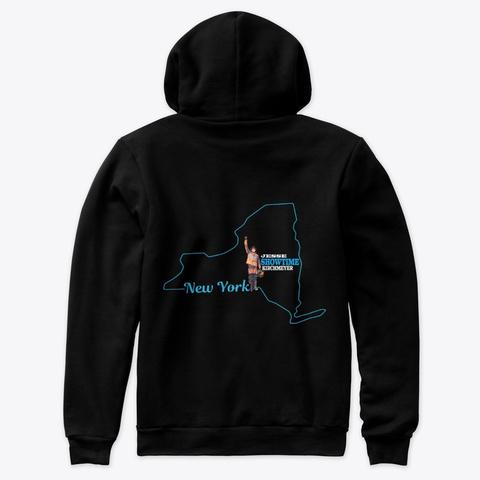 New York Showtime Sweatshirts Black T-Shirt Back