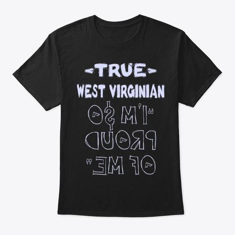 True West Virginian Shirt Black T-Shirt Front