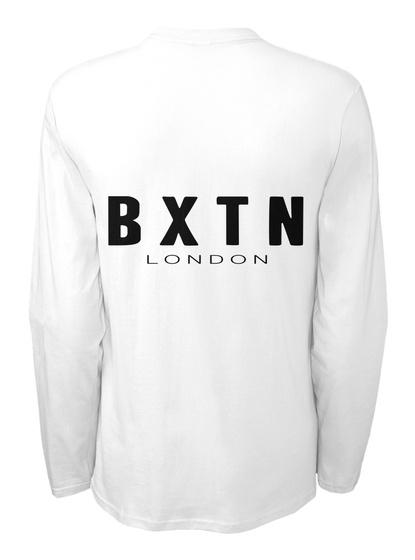Bxtn London White Camiseta Back