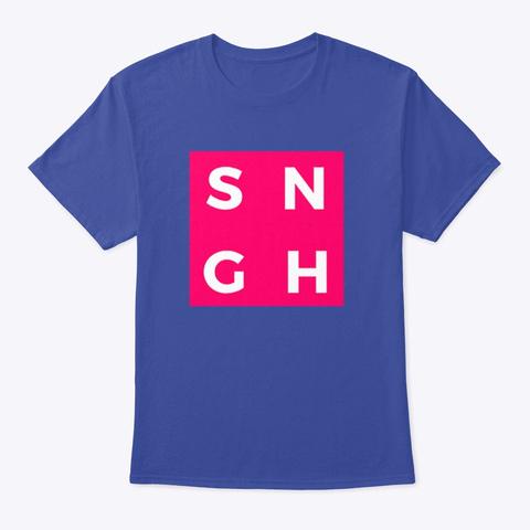 Sngh  Deep Royal T-Shirt Front