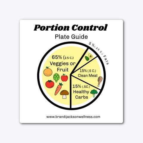 Golden Plate Portion Control Guide Standard T-Shirt Front