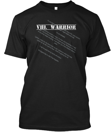 Vhl Warrior Black T-Shirt Front