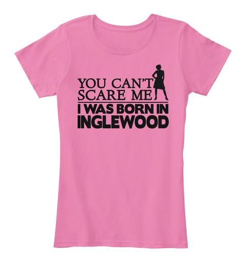 Inglewood True Pink T-Shirt Front