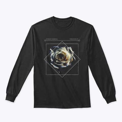 Vibrations Ep Long (Black) Black T-Shirt Front
