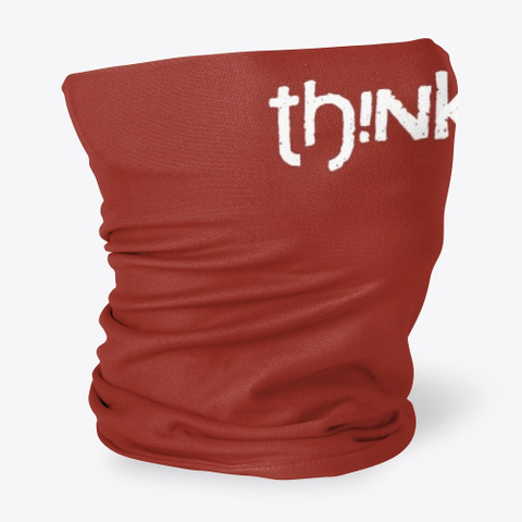 T Hi Nk Ci G Apparel Dark Red T-Shirt Side