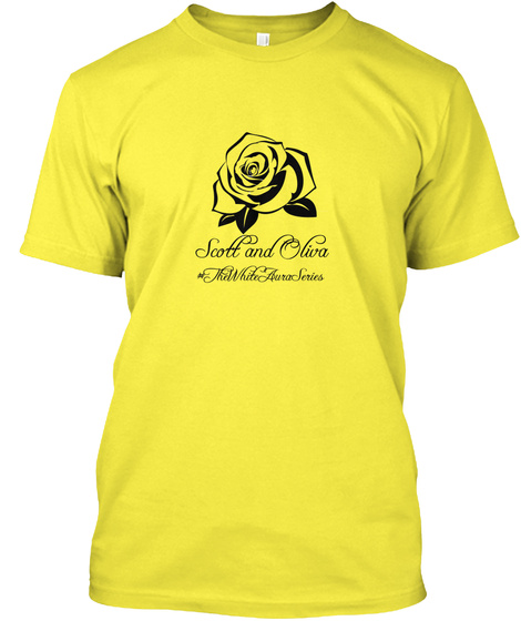 Scott And Oliva The White Aura Series Yellow T-Shirt Front