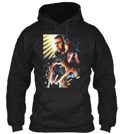 Blade Runner Black T-Shirt Front