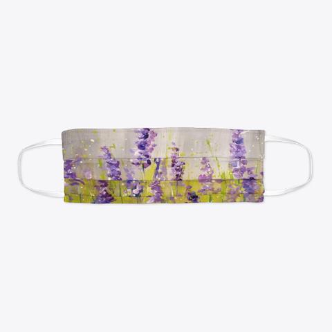 Lavender Mask Standard T-Shirt Flat