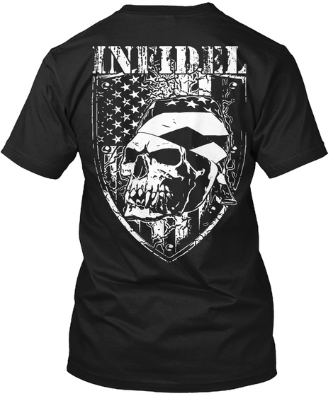 Infidel Black T-Shirt Back