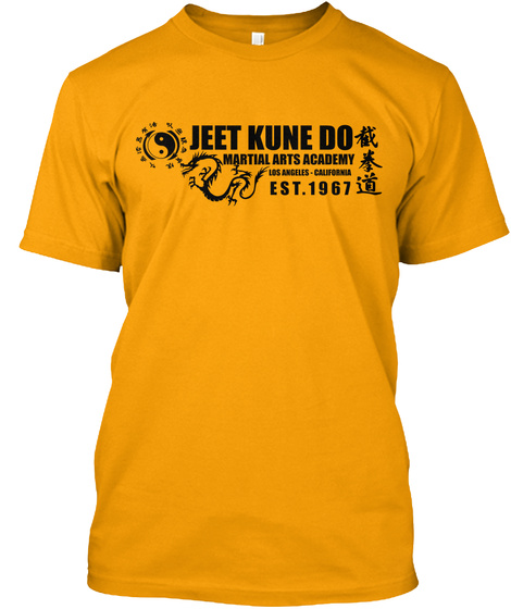 Jeet Kune Do Gold T-Shirt Front