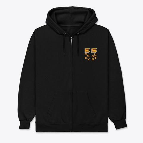 Essex Slots Black T-Shirt Front
