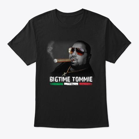 Bigtime Tommie Portrait Shirts Black T-Shirt Front