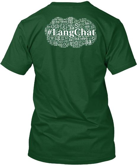 Langchat Deep Forest T-Shirt Back