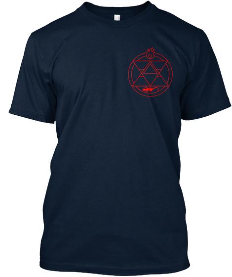 Fullmetal Alchemist    Limited Edition New Navy T-Shirt Front
