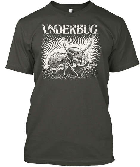 Underbug Smoke Gray T-Shirt Front