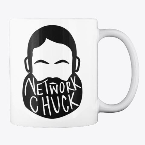 Official Network Chuck Mug White T-Shirt Back