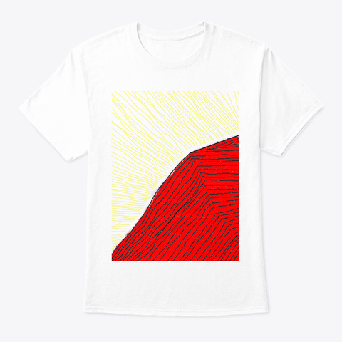 Temple Of Sundeath 1 White T-Shirt Front