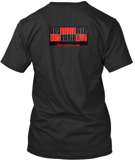 Rasradiolive.Com Black T-Shirt Back