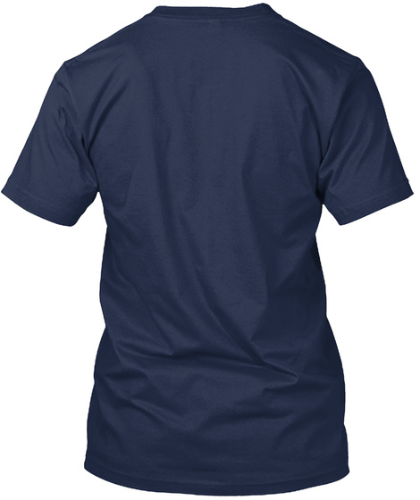 Limited Edition!! Navy T-Shirt Back
