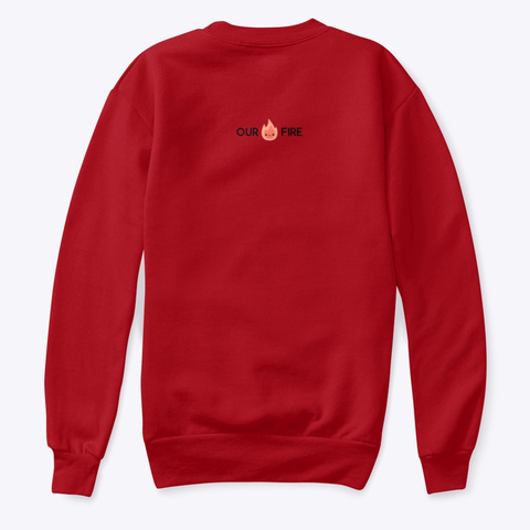 Holiday Toaster Kids Deep Red  T-Shirt Back