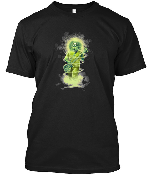 Al Cisneros No Logo Black T-Shirt Front