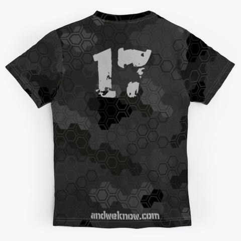 Cue Camo Shirts Standard T-Shirt Back