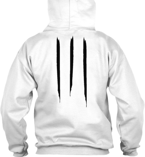 Promotion Hoodie Og White Sweatshirt Back