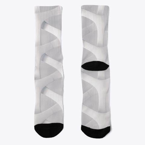 Crew Socks: Blank Paths Black T-Shirt Front