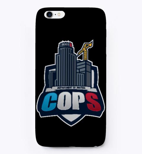Dept  of Justice Cops iPhone Case