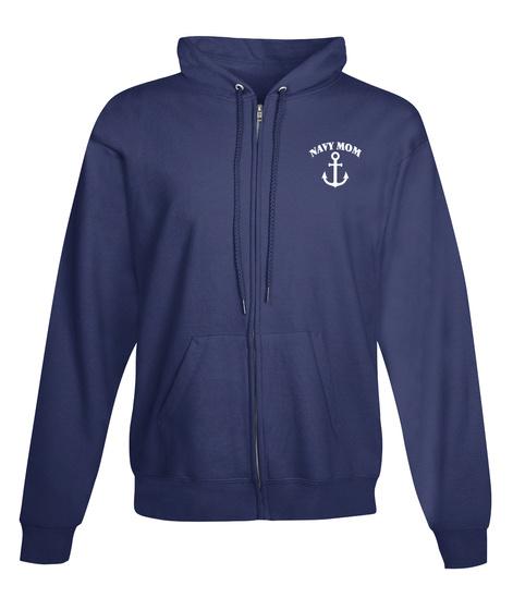 Navy Mom Navy  Sweatshirt Front