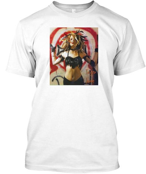 Inger Lorre   Bullseye Men's T White T-Shirt Front